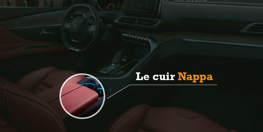 Le cuir Nappa.