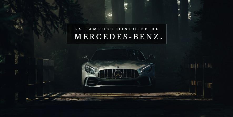 La surprenante histoire de Mercedes-Benz.