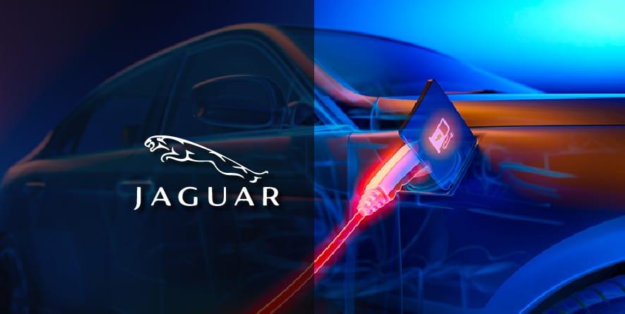 La nouvelle Jaguar électrique.